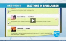 aawaj microbloggers covering up the election
